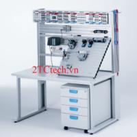 Bàn thực hành hệ thống khí nén công nghiệp