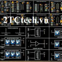 Module Ghép kênh và phân kênh theo tần số FDM